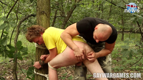 Gay BDSM GayWarGames - Obsessed Part 2