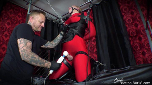 BDSM ShinysBoundSluts - Roxxie Moth - Living Doll Strapped and Cumming