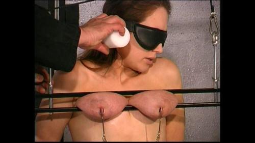 BDSM Slave Eve meets Master T for more Breast Torture - Cam vol. 1