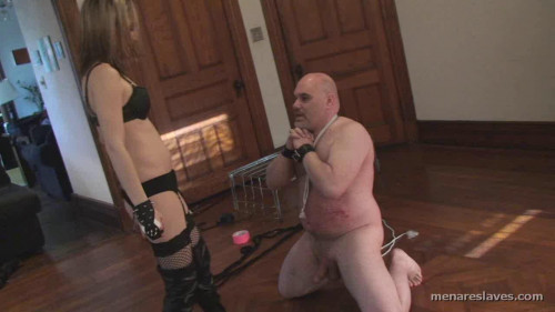 Femdom and Strapon Men Are Slaves Pack6