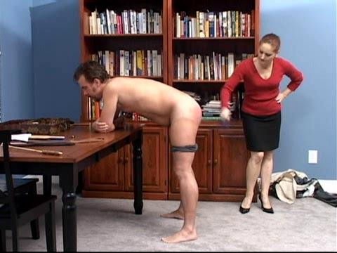 BDSM Paddled and Penetrated