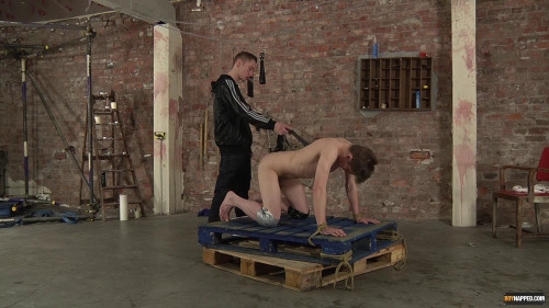 Gay BDSM Flogged Fingered and Fucked! - Jack Wright and Ashton Bradley - Full HD 1080p