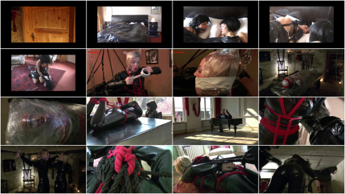 BDSM Latex Bondage Education Hot Sweet Only Best Collection. Part 5.