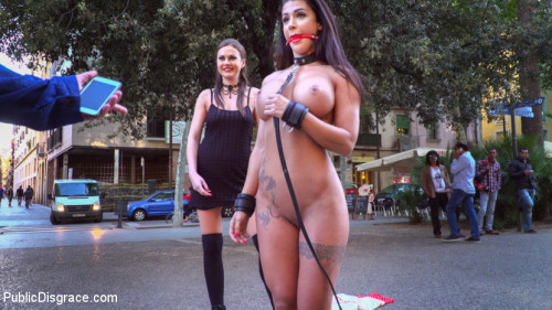 bdsm Susy Gala is a Public Fuck Doll Part 1