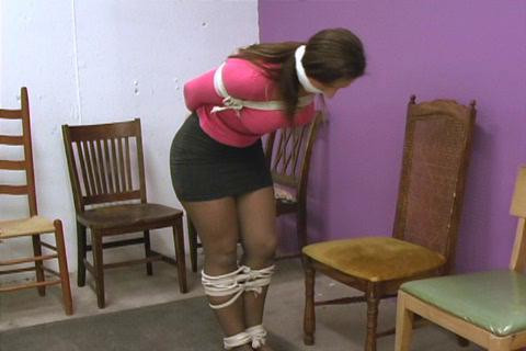 BDSM Pretty girls bound and gagged