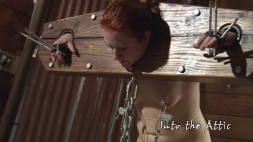 BDSM Hard bondage, spanking and torture for horny bitch part 2