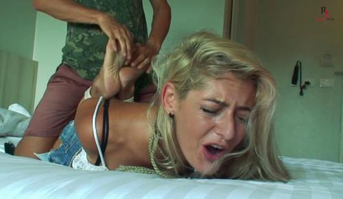 BDSM Alisa - Ticklish Blonde on Vacation