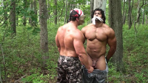 Gay BDSM BuffAndBound Corleone - Back Woods Bondage