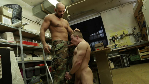 Gay BDSM Spy games - part 04