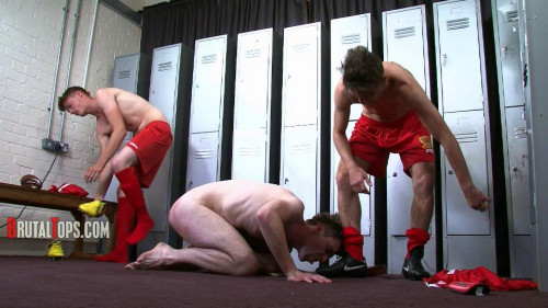 Gay BDSM Suck Both Our Dicks After We Dildo Your Arse!