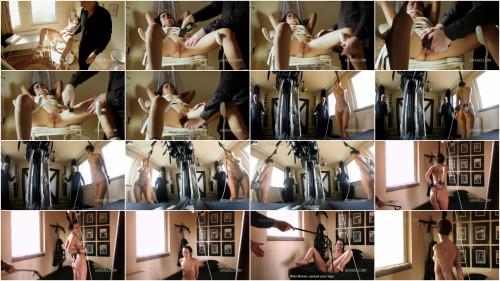 BDSM Teen Student Monica Punished Hard