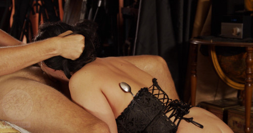 BDSM Metodology of Torture - Sucking Under the Cane - Part 3 - The Punishment