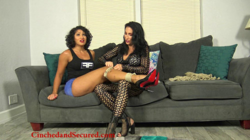 BDSM CinchedandSecured - Sahrye and Raven - The Rehearsal