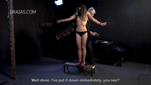 BDSM The punishment of a young model