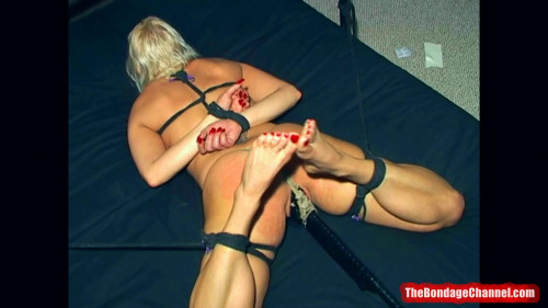 BDSM Rope Slut MILF Frogtied - Full HD 1080p