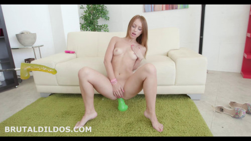 Fisting and Dildo Kira dildo will not let you be bored