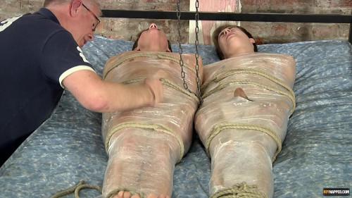 Gay BDSM Captured And Wanked Off (Casper Ellis, Sebastian Kane, Zac Langton)