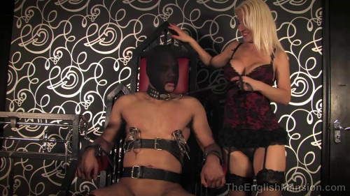 Femdom and Strapon Torment Chair