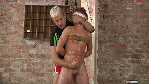 Gay BDSM Slippery Wank For A Fit Prisoner
