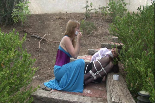 BDSM HD Bdsm Sex Videos Ashley Renee Bound Outdoors by Lorelei