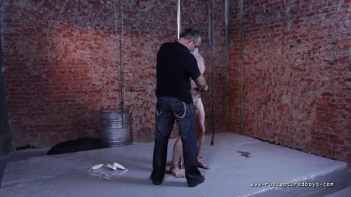 Gay BDSM Rented Captive Eugene - Finally Nude