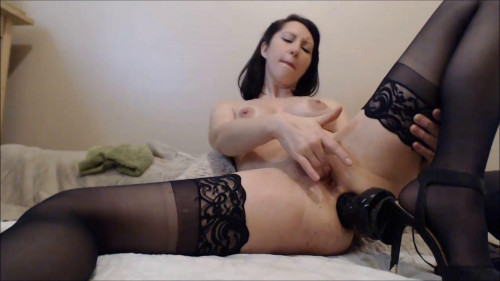 Fisting and Dildo Diana Big Anal Dildo