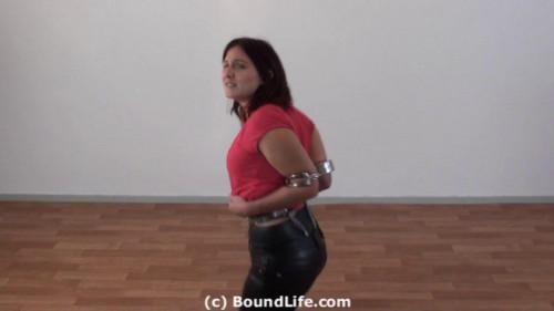 BDSM Heavy elbow cuffs