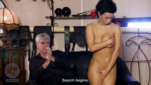 BDSM Stacy Gets Humiliation & Whipping
