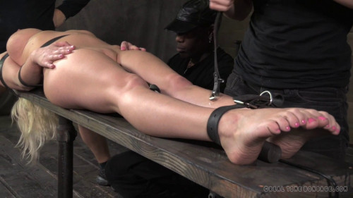 bdsm Cherry Torn Belted Down Planked And Stuffed Full Of Cock