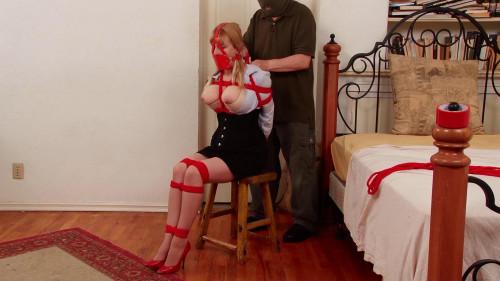 BDSM The WrapGag Burglary Part one Lorelei Gagged Groped Left Shoeless