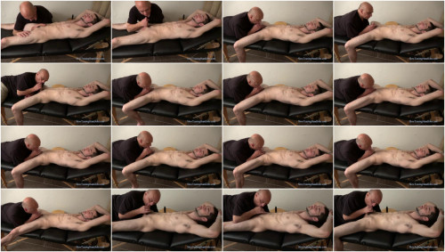 Gay BDSM Tormenting Emanuel by Mouth