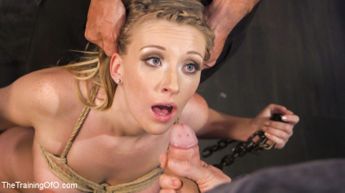 bdsm Training the Eager Newcomer to Suffer for Cock