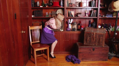 BDSM The Case of the Captured Detective Part one Starring Miss Purple