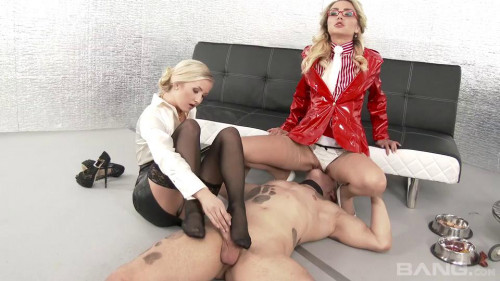 Femdom and Strapon CFNM Partying 3 Scene 2