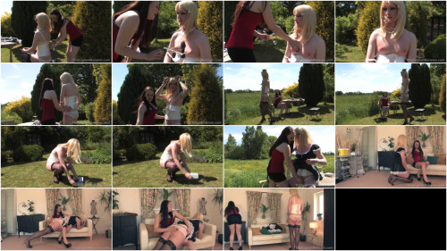 Femdom and Strapon Elys Special Girl