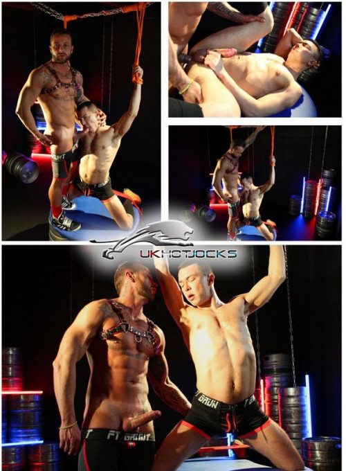 Gay BDSM David Lambert Tied and Bound by Frank Valencia