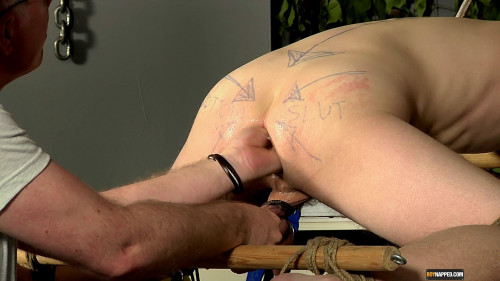 Gay BDSM Sebastian Deep Fingers Some Tight Hole