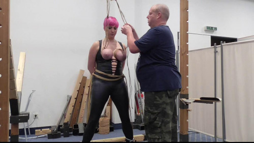 BDSM Public Breast Predicament for Nova Pink vol. 1