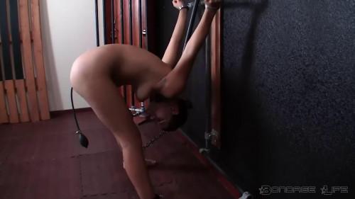 BDSM Bondage, suspension and torture for horny naked slave model