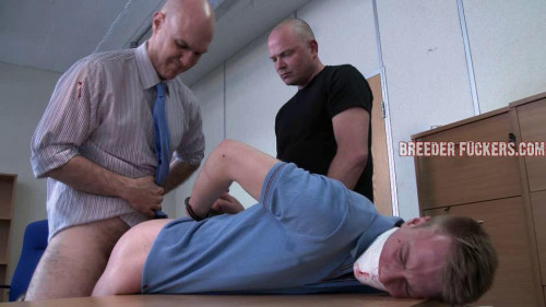 Gay BDSM bf - Chris 2 (Handsome Straight Lad Chris Handcuffed & Gets A Brutal Fucking!)