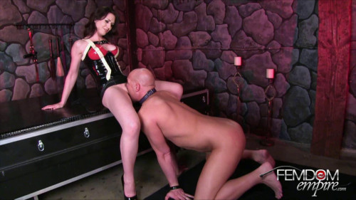 Femdom and Strapon Pussy Edging - Dfe