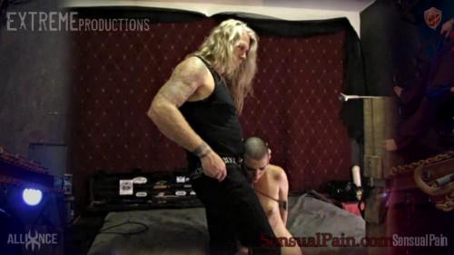 BDSM Master Whips Slave Orgasm Denial