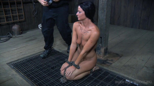 BDSM Rough Domination For Hot London River