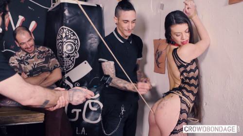 BDSM BDSM group session with obedient Tiffany Doll - Tiffany Doll and Emilio Ardana