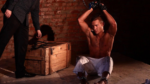 Gay BDSM RusCapturedBoys - Prisoner Dmitriy 3