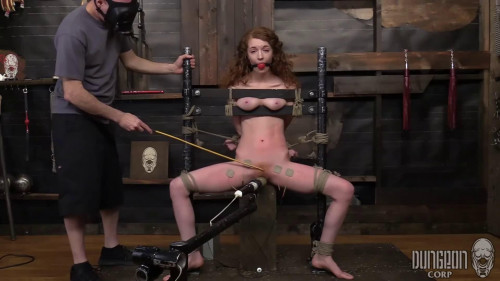 BDSM Bondage, spanking and torture for sexy hot slavegirl part2 HD 1080p