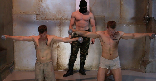 Gay BDSM Slaves Competition 2 Part 1