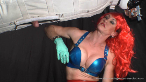 Femdom and Strapon Flamed Hair Temptress