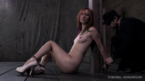 BDSM All the tying onscreen, no breaks for poor Calico