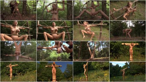 BDSM Fear in woods